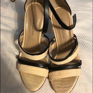 BCBG Maxazria leather heels 36